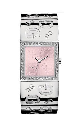 Guess 70607L3 - Orologio da polso da donna, cinturino in acciaio inox colore argento