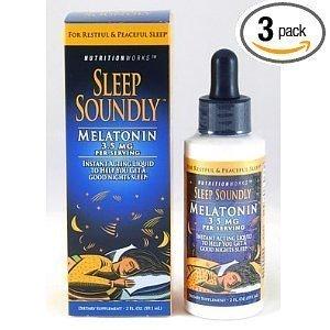 Sleep Soundly Melatonin, 2-Ounce Bottles (Pack