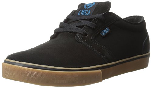 C1RCA Men's Hesh Skateboard Shoe, Black/Seaport, 9 M US
