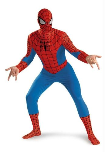 Costumes For All Occasions Dg50185D Spiderman Standard Adult