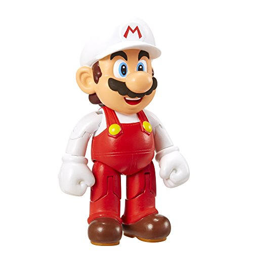 Super Mario 10Cm Figure - Mario With Fire Flower