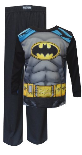 Dc Comics Batman Pajama With Cape For Boys (4) back-932113