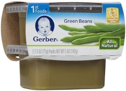 Gerber 1St Foods Green Beans 5Oz (Pack Of 16) front-60700
