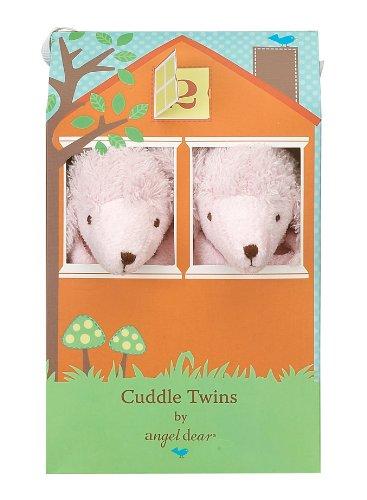Angel Dear Cuddle Twin Set, Pink Poodle