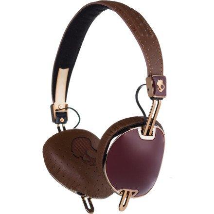Skullcandy Navigator Series Headphones Brown/ Maroon