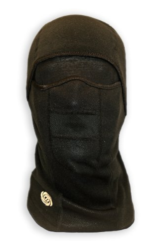 Chaos -CTR  Chinook Multi Tasker Pro Micro Fleece Balaclava with Windproof Face Mask, Black, Large/X-Large