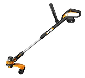 WORX WG175 32-volt Lithium MAX Cordless Grass Trimmer and Edger with Wheel Set