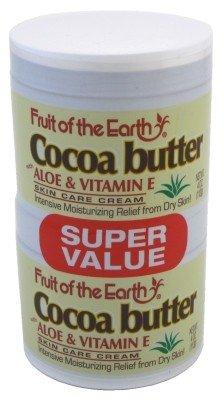 Fruit Of The Earth Bogo Cream Cocoa Butter 4Oz. Jar (2 Pack)
