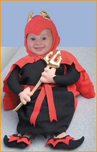 Baby Halloween Costumes Baby Devil Bunting