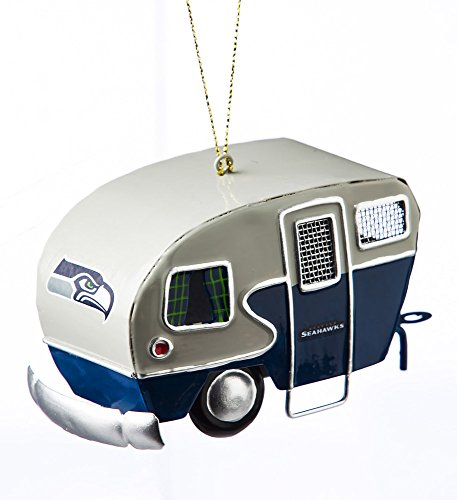 Team-Sports-America-Metal-Seattle-Seahawks-Camper-Ornament