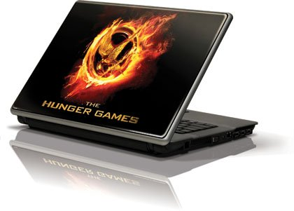 Skinit The Hunger Games Logo Vinyl Laptop Skin for Generic 12in Laptop (10.6in X 8.3in)