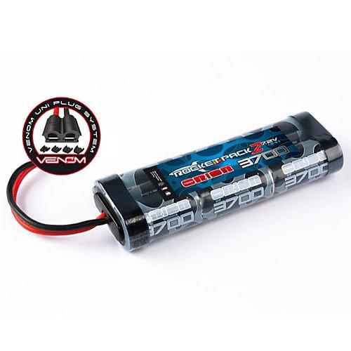 Rocket 2 3700 NiMH 7.2V 6C Flat, UNI Plug