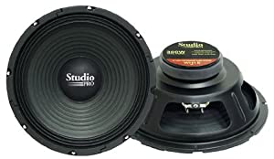 Pyramid WH10 10-Inch 300 Watt High Power Paper Cone 8 Ohm Subwoofer by Sound Around
