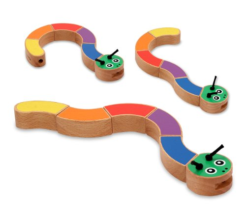 Melissa & Doug Caterpillar Grasping Toy - 1
