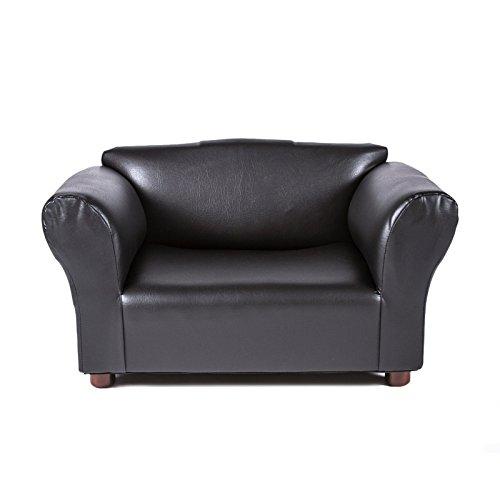 mini-sofa-black-leatherette-pet-bed