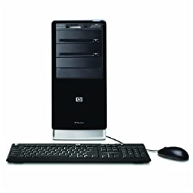 HP Pavilion A6750F Desktop PC (2.3 GHz AMD Phenom X4 9650 Quad-Core Processor, 8 GB RAM, 750 GB Hard Drive, DVD Drive, Vista Premium)