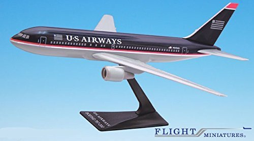 US Airways (97-05) 767-200 Airplane Miniature Model Plastic Snap-Fit 1:200 Part# ABO-76720H-016 (Us Airways Model Airplane compare prices)