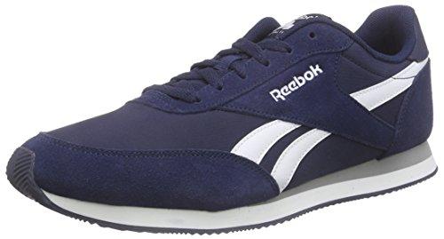 ReebokRoyal Classic Jogger 2 - Scarpe Running Uomo, Blu (Collegiate Navy/White/Baseball Grey), 44.5