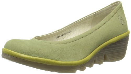 Fly London Womens Pump Ballet Flats P500424019 Light Green/Light Green 5 UK, 38 EU