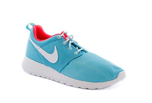 Nike Kids Rosherun  Polarized Blue/White/Lsr Crmsn Running S