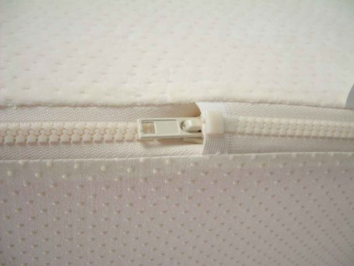 BRAND NEW memory foam mattress cover LUXURY JACQUARD VELOUR ALL AROUND ZIPPERED COVER for 3