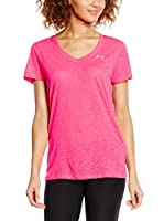 Under Armour Camiseta Técnica Tech v (Fucsia)