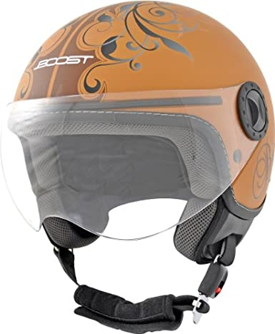 Casque boost b730 urban marron mat l - Boost BS03715