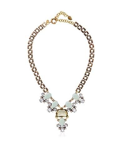 David Aubrey Hadrien Chain & Rhinestone Necklace As You See