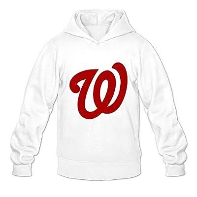 Washington Nationals Ambom 100% Cotton Hoodies For Male White