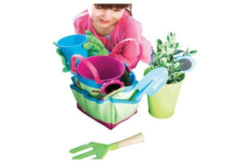 Chad Valley 10 Piece Childrens Gardening Set