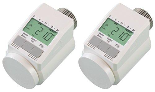 komforthaus-Heizkrperthermostat-Classic-Typ-L-neues-leises-Modell-Set-fr-2-Rume-Pro-Version-inkl-stabiler-Metallmutter