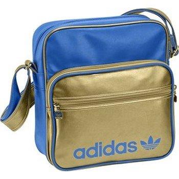 878857c223258 Adidas Original AC Sir Blue Gold New Mens Womens Unisex Shoulder Bag Review