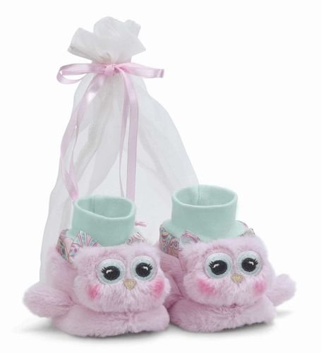 Bearington Baby Collection Lil' Hoots Booties - 1