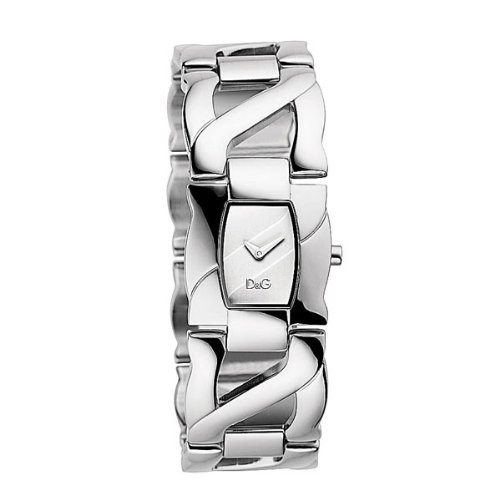 Dolce and Gabbana Ollie Silver Dial Ladies Watch DW0613