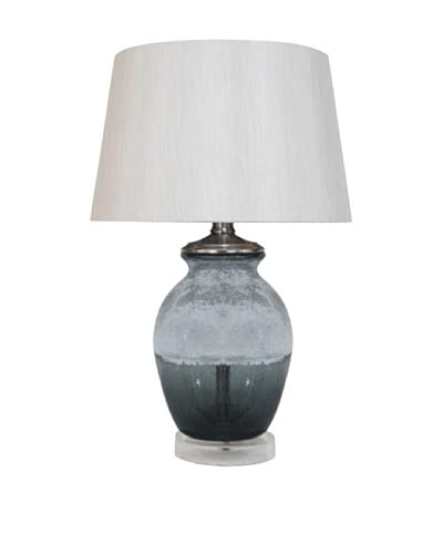 Artisitic Lighting Table Lamp, Grey Crackle