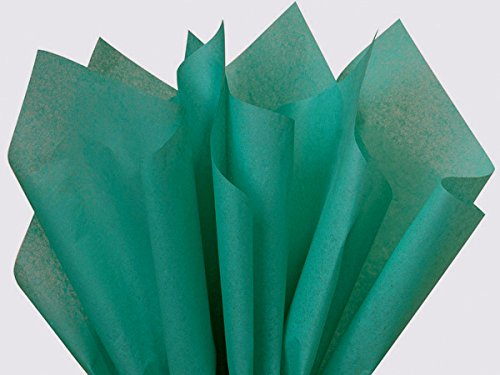 "Caribbean Teal Aqua Blue Tissue Paper 20"" X 26"" - 48 Sheets back-689043"
