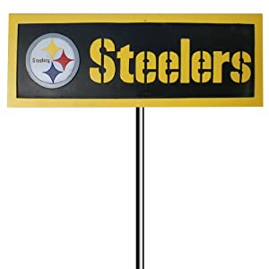 Buy Team Sports American Pittsburgh Steelers Garden Sign by Team Sports America