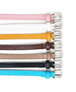 Lively Colored Women's Skinny Belt