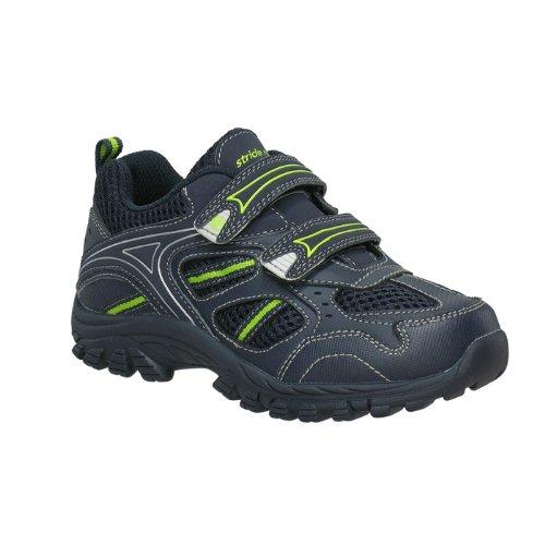 Stride Rite Dallas Sneaker (Toddler/Little Kid),Navy/Lime,4 M Us Toddler