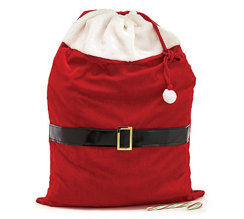 Large Santa Toy Bag Gift Wrap Bag for Christmas Gifts