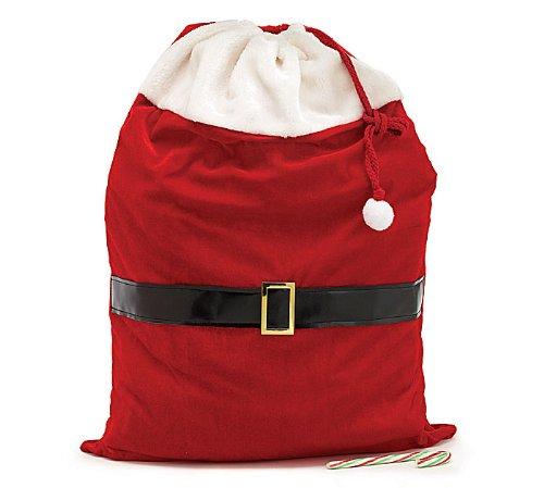 Large Santa Toy Bag Gift Wrap Bag for Christmas Gifts