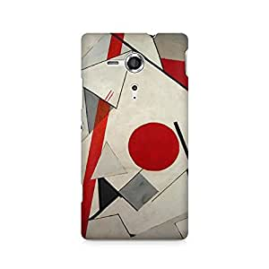 Mobicture Moon Premium Designer Mobile Back Case Cover For Sony Xperia SP M35H
