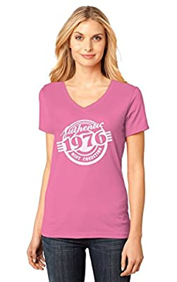 40th Birthday Gift Authentic 1976 Mint Condition Funny V-Neck Women T-Shirt