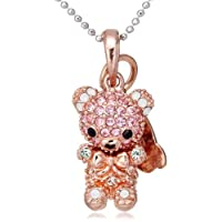 [テディベア] Teddy Bear ペンダント&ストラップ 赤ちゃんシリーズ カラー:ピンク(PK) Teddy-05PK