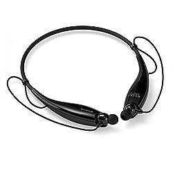 SoundPEATS(サウンドピーツ) ワイヤレスヘッドセットbluetooth ヘッドホン ハンズフリーヘッドセット Q800 (ブラック)