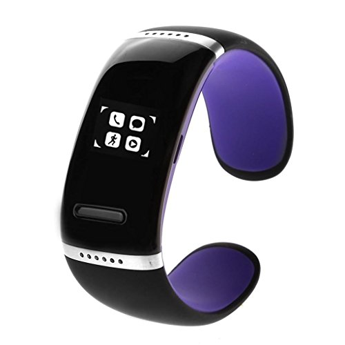 Us Compass Bluetooth 3.0 Smart Watch Wrist Watch U Watch For Android Ios Iphone Samsung Galaxy Htc Purper