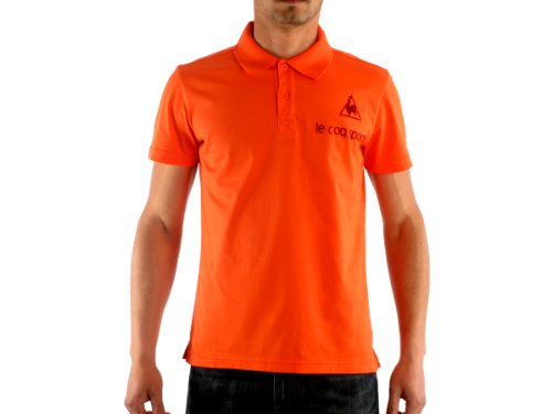 Le Coq Sportif 1121927 Straight Orange Man Polo Shirts Men - 03-s