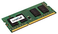 Crucial 1GB Single DDR 400MHz (PC3200) CL=3 200-Pin SODIMM Notebook Memory Upgrade - CT12864X40B
