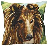Lassie Collection D'Art Chunky Cross Stitch Cushion Front Kit