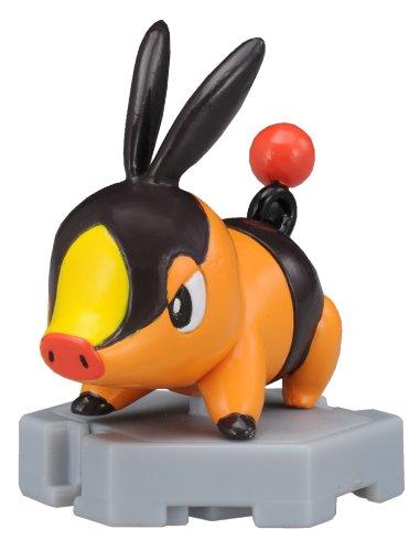 "Takaratomy Pokemon Monster Collection Plus - MP-02 - Tepig/Pokabu Action Figure, 2"" - 1"